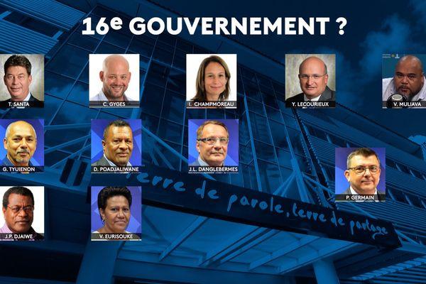 16e gouvernement
