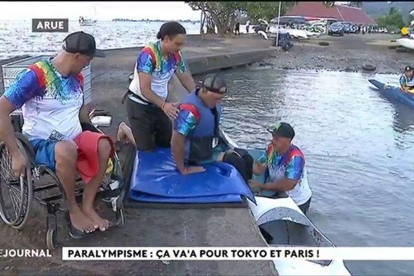 Le va'a fait son entrée aux jeux paralympique de Tokyo