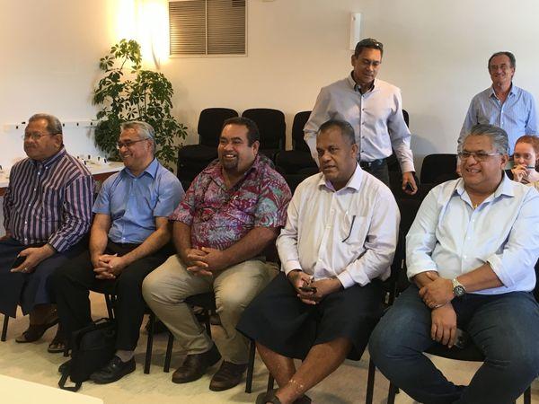 Visite délégation Wallis et Futuna