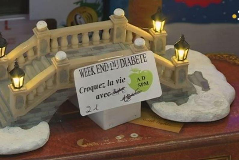Une vente de Noël pour récolter des fonds au profit des diabétiques, à Saint-Pierre