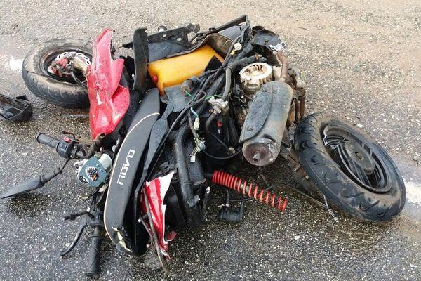 Accident PK 16 route de Macouria