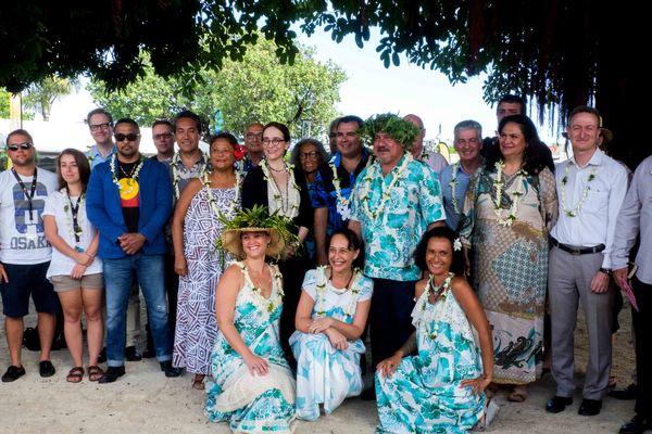FIFO 2017 : photot des membres du jury et gouvernement