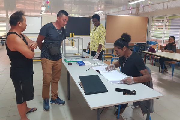 Mana bureau de vote de Javouhey municipales 2020