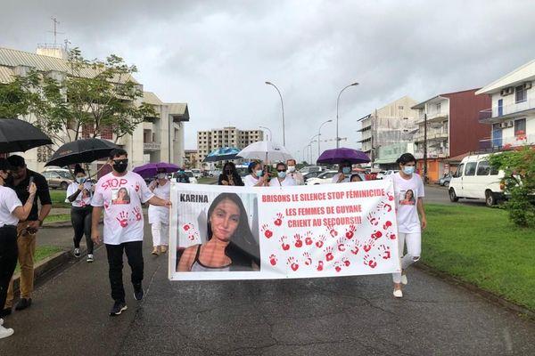 Marche pour Karina