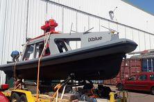 Le Drix, drone marin à la pointe de la technologie, sera un atout pour les recherches du Ravenel