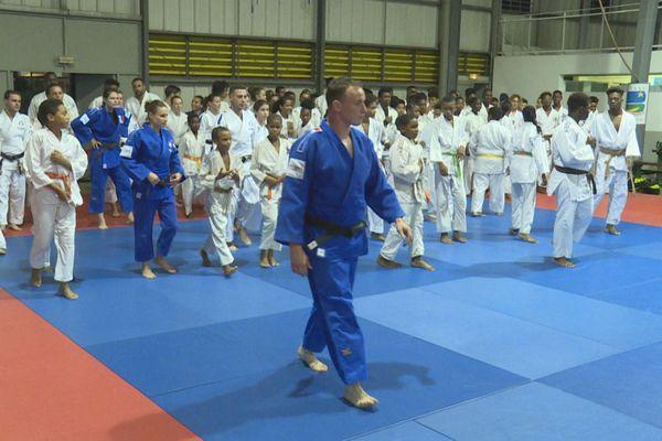 Les meilleurs espoirs de Guyane en stage avec l'équipe de France de judo