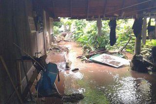 Inondations à Vairao