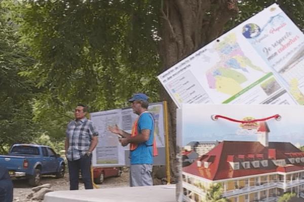 Opération ramassage de déchêts à Papeete
