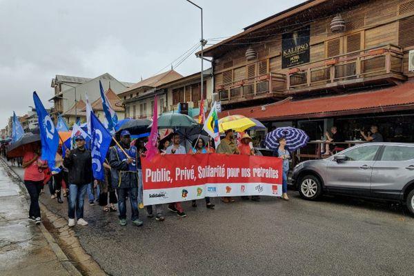 Manifestation à Cayenne le 17 décembre 2019