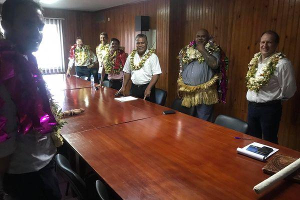 Mission NC reçu à l'Assemblée par le président Kolokilagi