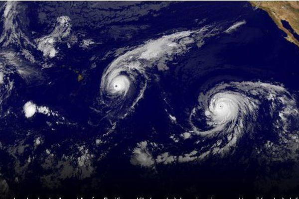 Ouragans sur le Pacifique
