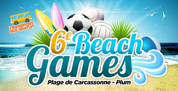 Visuel des Beach games 2019