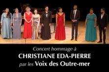 Final sur scène lors du concert hommage à Christiane Eda Pierre, le 3 juillet 2021 à l'Opéra de Paris