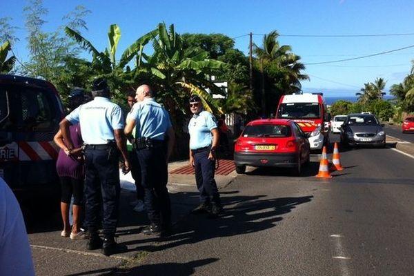 Accident mortel à Bois de Nèfles Coco