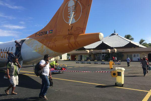 Aircal aérodrome d'Ouloup Ouvéa