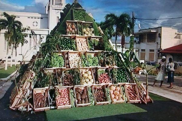 le triangle des fruits et légumes