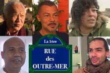De gauche à droite et de haut en bas : Michel Pichan, Thierry Lo Shung Line, Valérie Chane Tef, David Tariffe et Farid Ingar