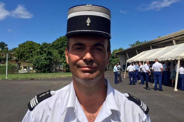 Frédéric Brachet est le nouveau commandant de compagnie de gendarmerie départementale des îles sous le vent