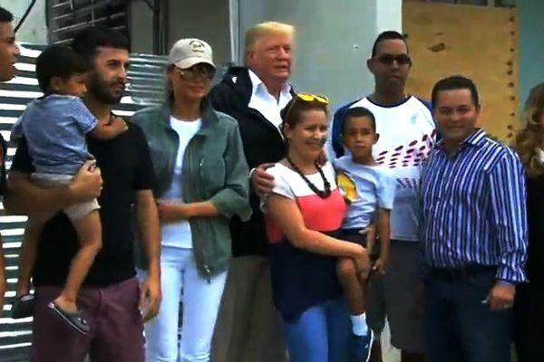 Trump à Porto Rico