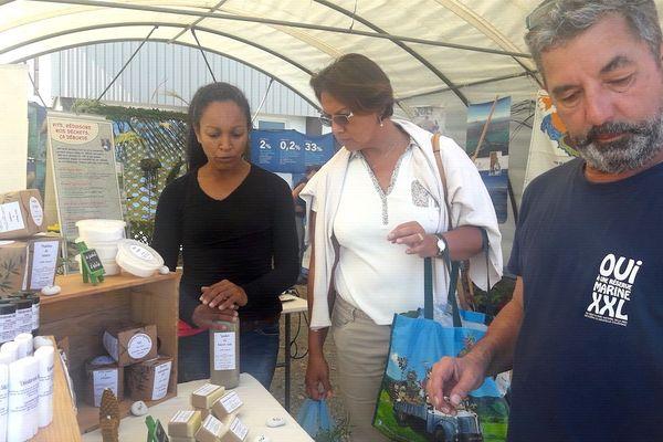 Dix ans d'inscription des lagons au patrimoine mondial: marché spécial à Moindou, 28 juillet 2018