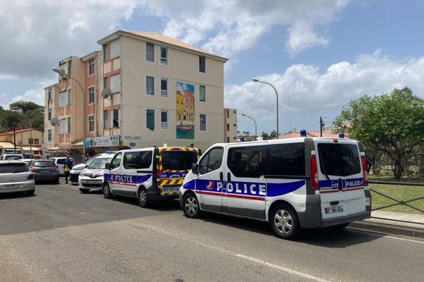 La police quartier sainte-Thèrèse