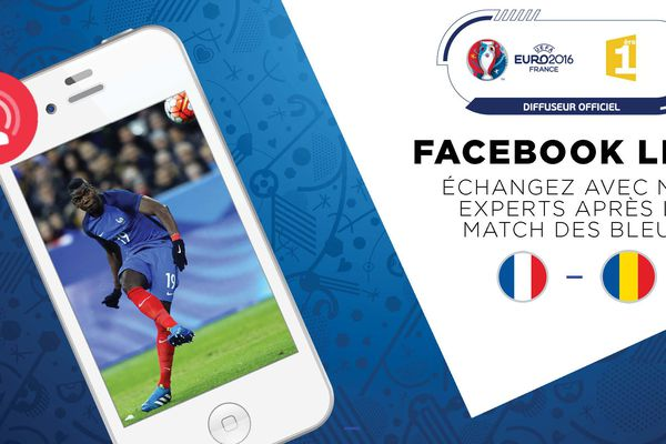 Facebook Live France Roumanie