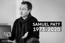 Hommage à Samuel Paty partout en France.