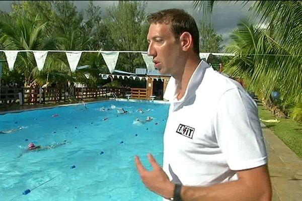 """Alain Benard, le """"poisson-pilote"""" de la natation est à La Réunion"""