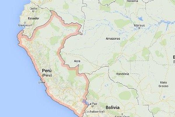 Pérou carte