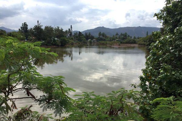 Kouaoua, rivière, février 2020