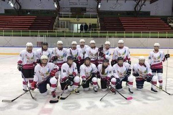 Léa Heudes a commencé le hockey sur glace avec Les Harfangs