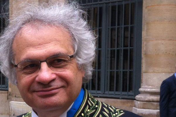 """Amin Maalouf, académicien et auteur du """"Rocher de Tainos"""""""