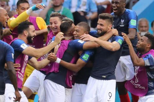 Equipe de France au mondial 2018