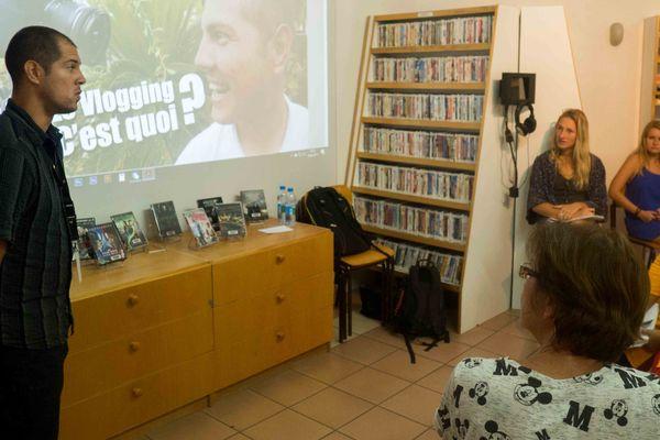 Atelier vlogging
