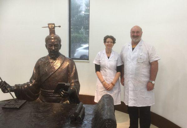 André Capiez s'est formé à la médecine chinoise