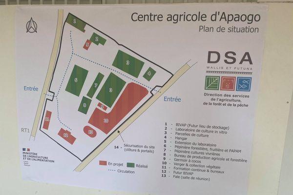 Plan du site d'Apaogo