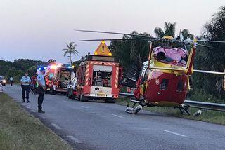 Accident de la route à Mana 15 9 19