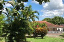 Le jardin et la maison d'Aimé Césaire à Fort-de-France, quartier Redoute