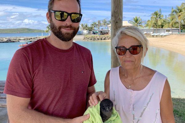 Sauvetage de pétrel à la Côte blanche, 28 mai 2019