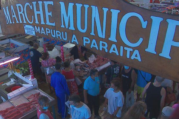 Marché de Papeete - nouvelles restrictions et possible fermeture