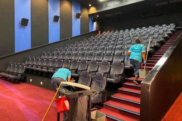 Nettoyage salle cinéma Cinestar