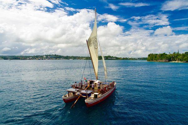 Pirogue Okeanos Vanuatu
