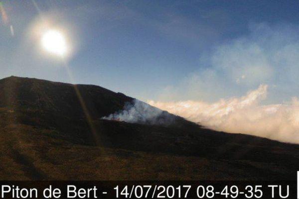 20170714 Eruption vue du Piton de Bert