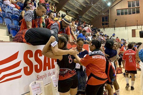 Défaite volley filles Samoa 2019 petite finale