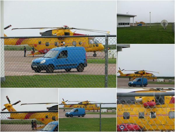 L'hélicoptère Cormoran de Search and Rescue de Gander (Terre-Neuve)