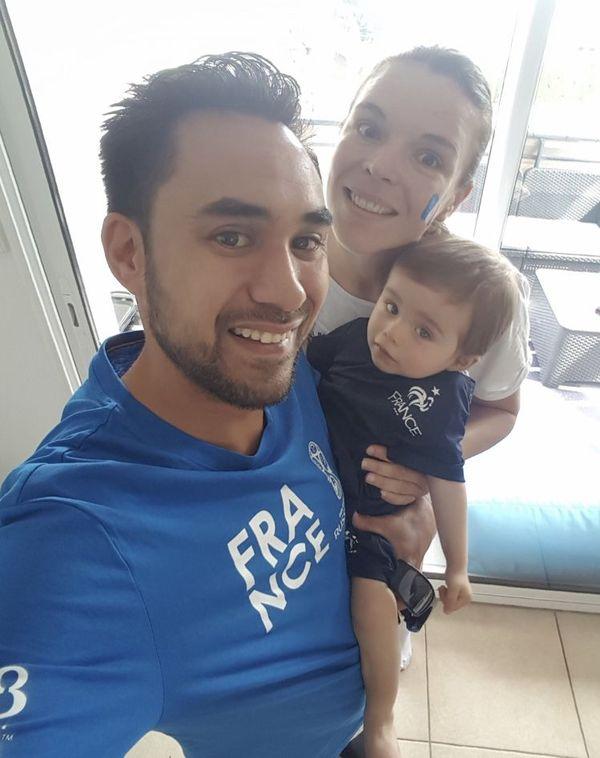 Le Calédonien vit près de la Suisse avec sa femme et son fils depuis janvier 2018