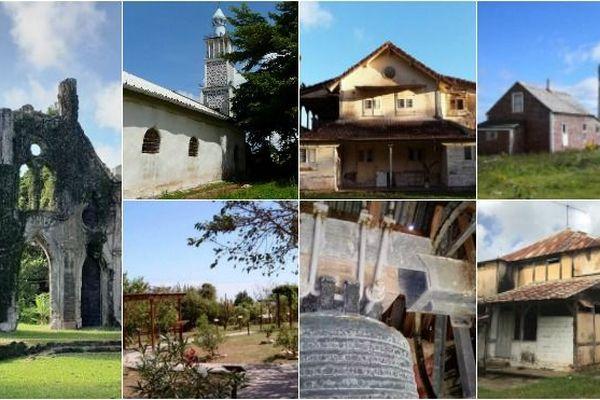 Les nouveaux sites retenus Outre-mer pour le loto du patrimoine.