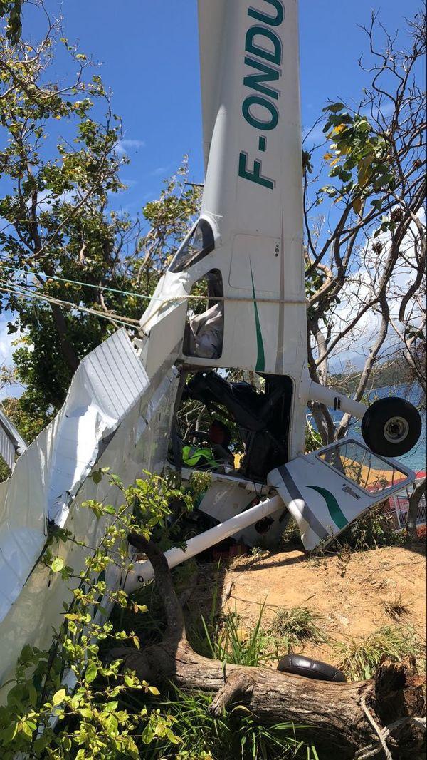 Crash avion Saintes
