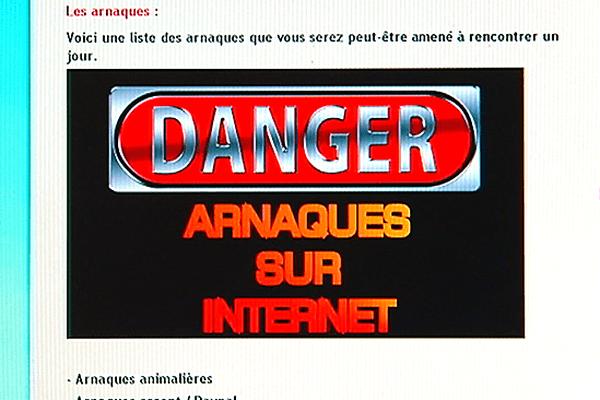 Arnaque sur internet