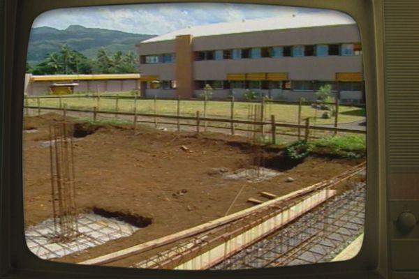 lycée professionnel de Taravao en 1988